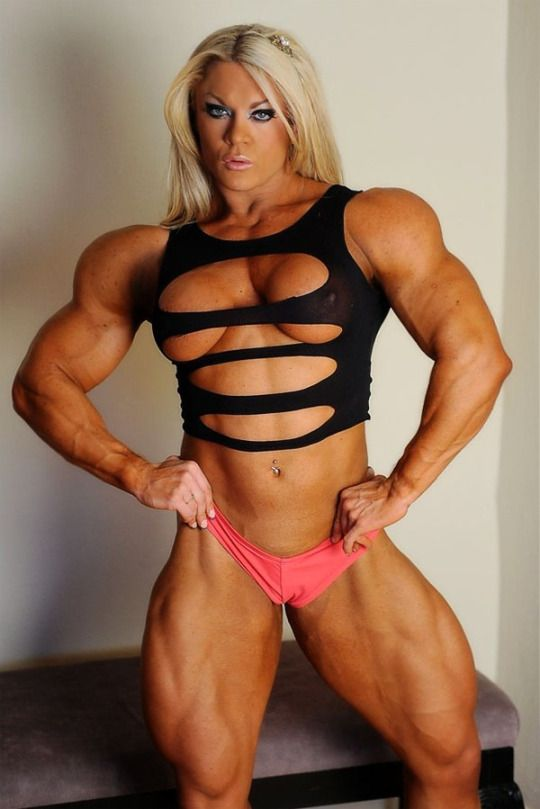 Naked muscle women sex